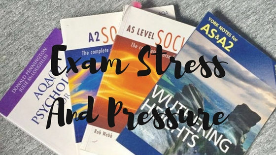 Exam Stress And Pressure