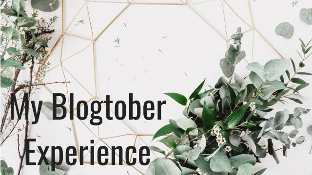 My Blogtober Experience – Ashleigh Writes